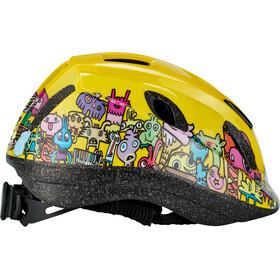 Cannondale Burgerman Colab Helmet Kinder yellow